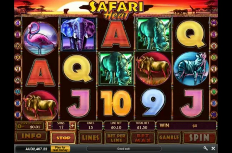 Safari-Heat-Slot-Machine-Dafabet-Casino