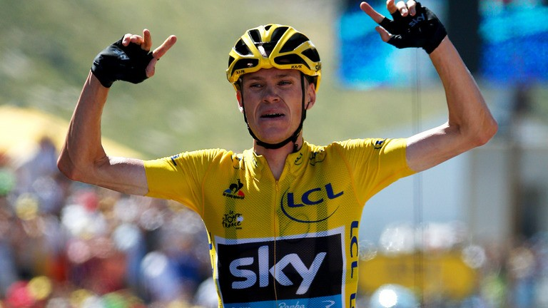 Chris Froome Insists Collision with Fabio Aru was Accidental