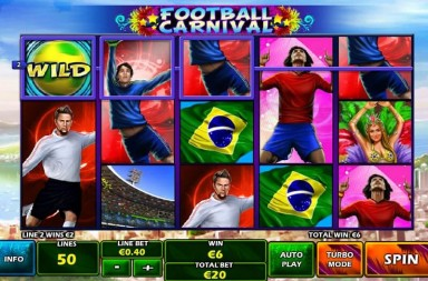 Prepare for the World Cup with Football Themed Slots