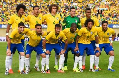 The Brazilian World Cup Squad