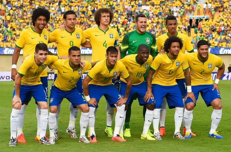 The Brazilian World Cup Squad