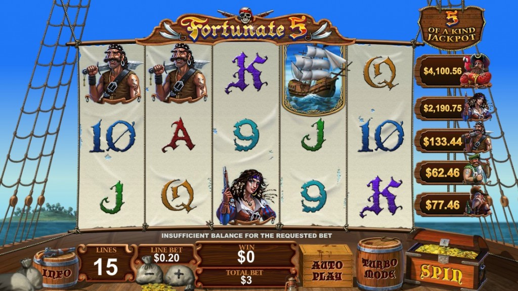 Fortunate-5-Slot-Machine-Dafabet-Casino