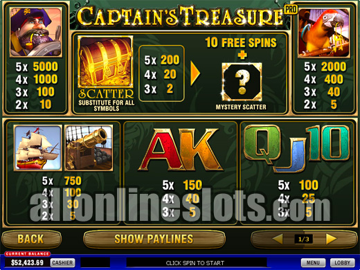 captains-treasure-pro-pt