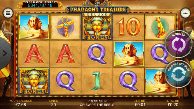 Pharaohs-Treasure-Deluxe-Slot-Review-Screenshot