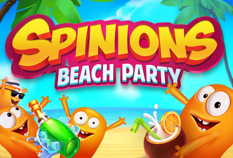 spinions-beach-party-pokie-logo