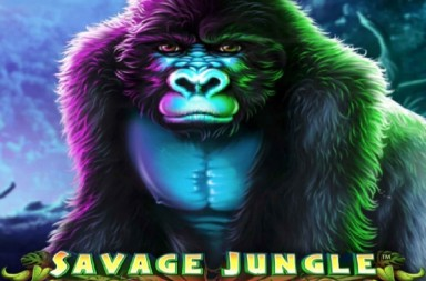 Savage Jungle slots logo
